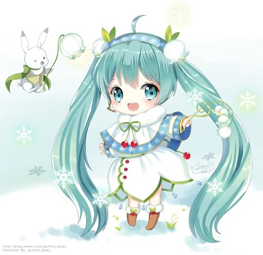 Snow Miku  cute