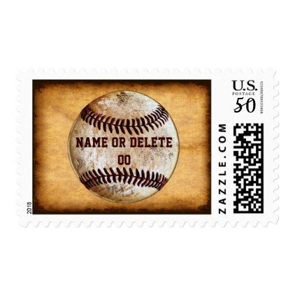 Personalized baseball stamps with name and number baby gifts child personalized baseball stamps with name and number baby gifts child new born gift idea diy negle Image collections
