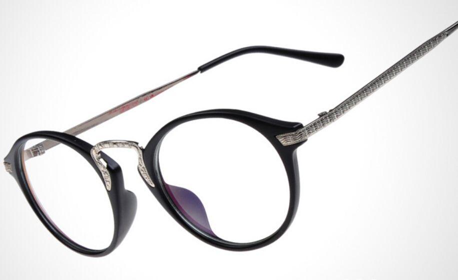 Encontrar Más Monturas Información acerca de Oculos Redondo de moda ...