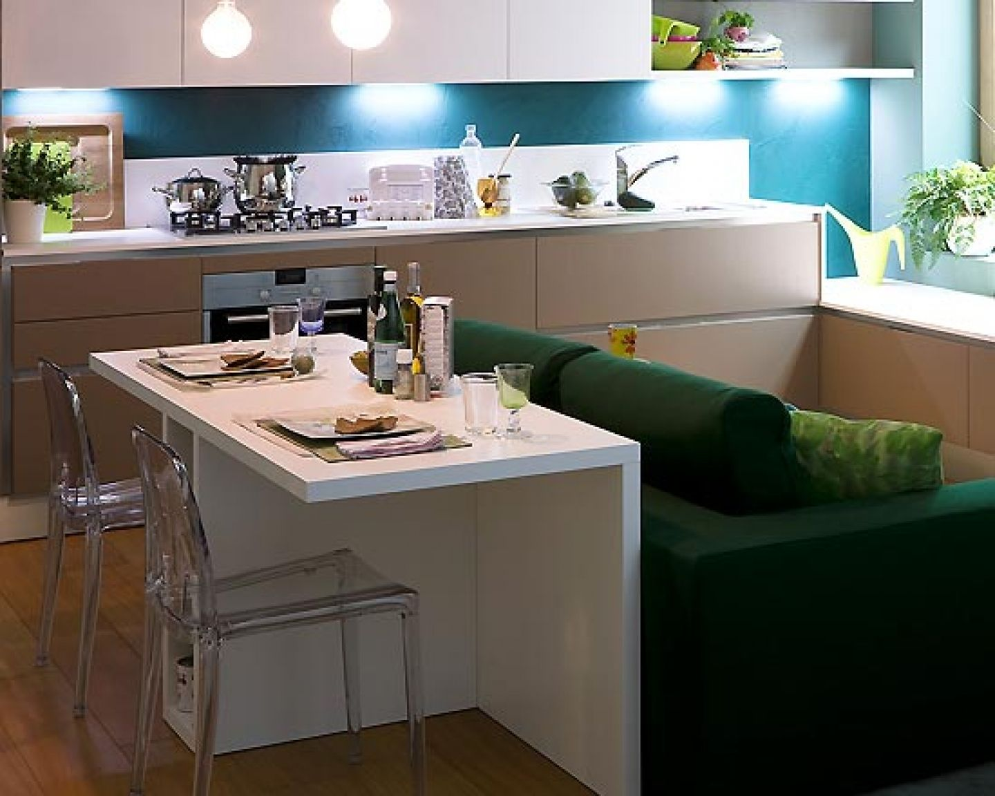 Interior Design for Very Small Houses | Kitchen small dining room small kitchen design very small kitchen