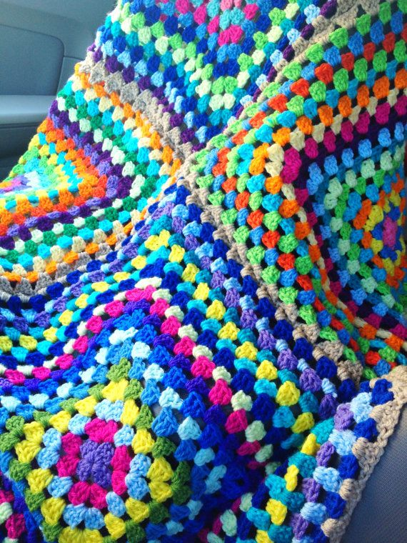 Items similar to BabyLove Brand Four Square Blanket - Throw size 60 ...