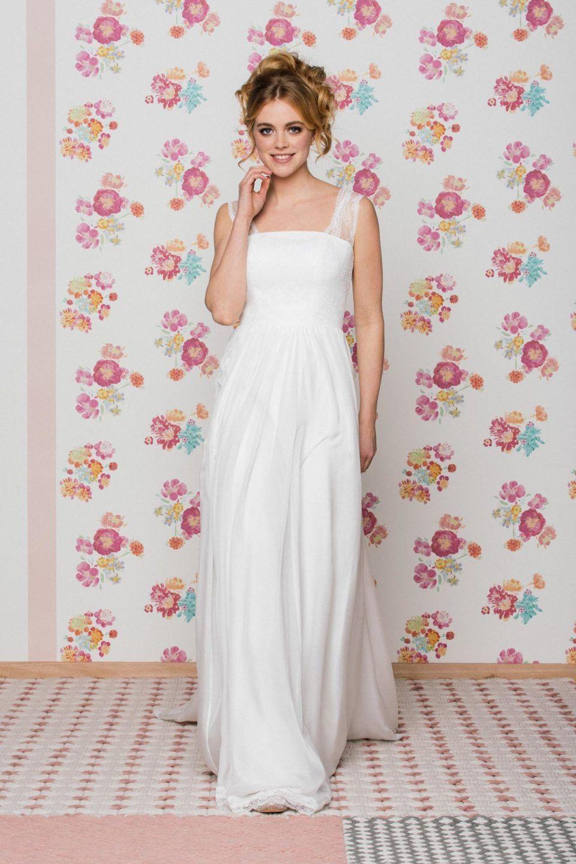 Brautkleid Mit Tragern Unsere Anu Ist Ein Zarter Traum Von Einem