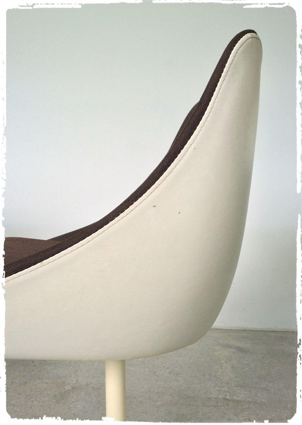 Oompa Paire De Fauteuils Chaises Pied Tulipe Joe Colombo Erzeugnis Lush 1972 Pumps Heels Shoes