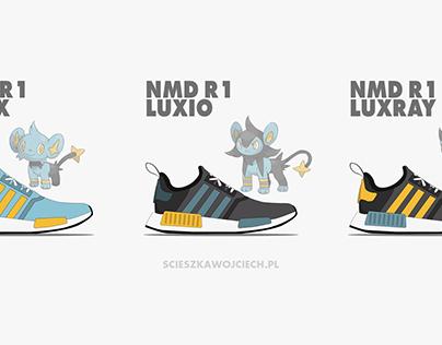 Pin by Wojtek Ścieszka on Adidas x Pokemon | Pokemon, Nmd r1