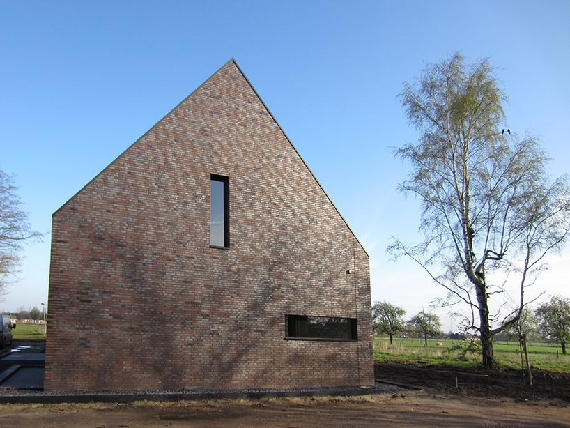 Brick Spot Architecture Villa Laar The Netherlands