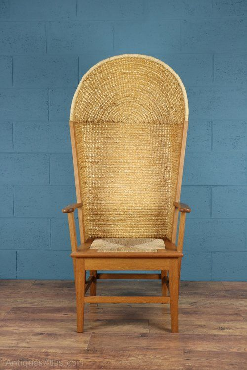 Antiques Atlas - Gentleman's Hooded Orkney Chair - Antiques Atlas - Gentleman's Hooded Orkney Chair Furniture