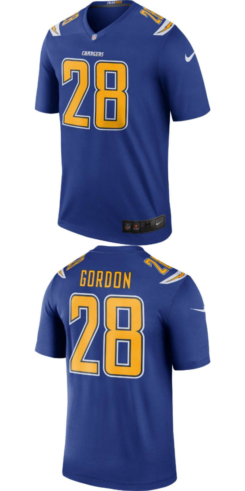 Up To 70 Off Melvin Gordon Los Angeles Chargers Nike Color Rush Legend Jersey Royal Jpg Los Angeles Charger Los Angeles Chargers Jersey Los Angeles Football