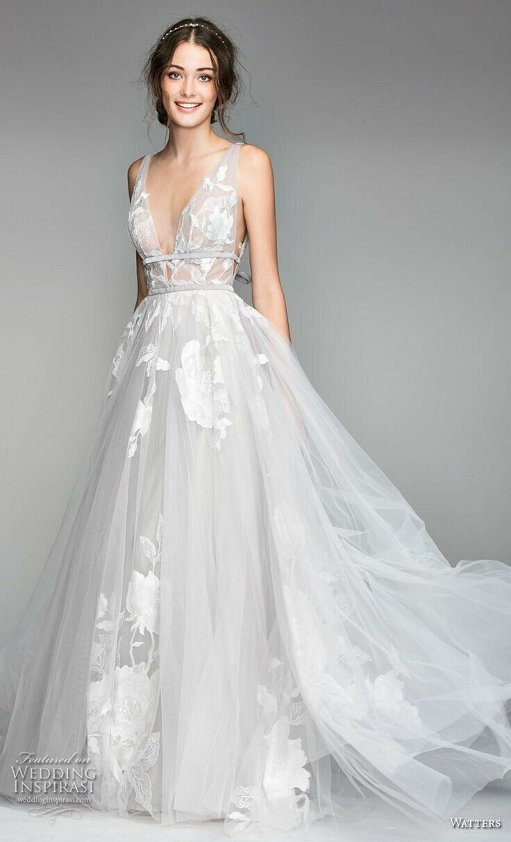 Plus size white wedding dress  Pin by Hadara on Clothes  Pinterest  Wedding dresses Wedding and