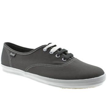 Women's Dark Grey Keds Champion Lace at Schuh