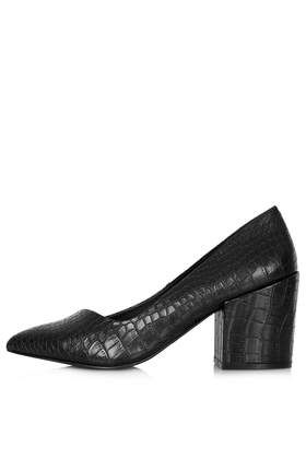 JOE Block Heel Court Shoes - Topshop