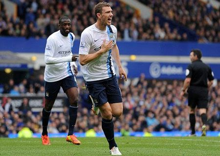 Video: Dzeko nâng tỷ số lên 3-1 cho Man City (Everton 1-3 Man City) - 360 độ Thể Thao