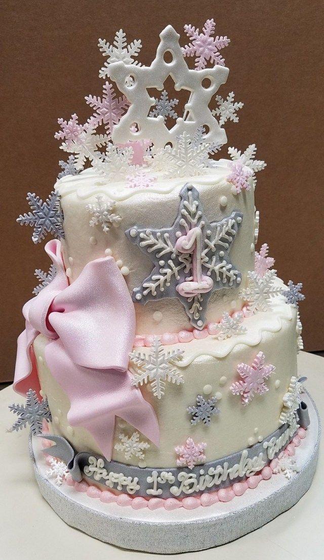 Fabulous 20 Brilliant Photo Of Winter Wonderland Birthday Cakes Funny Birthday Cards Online Fluifree Goldxyz