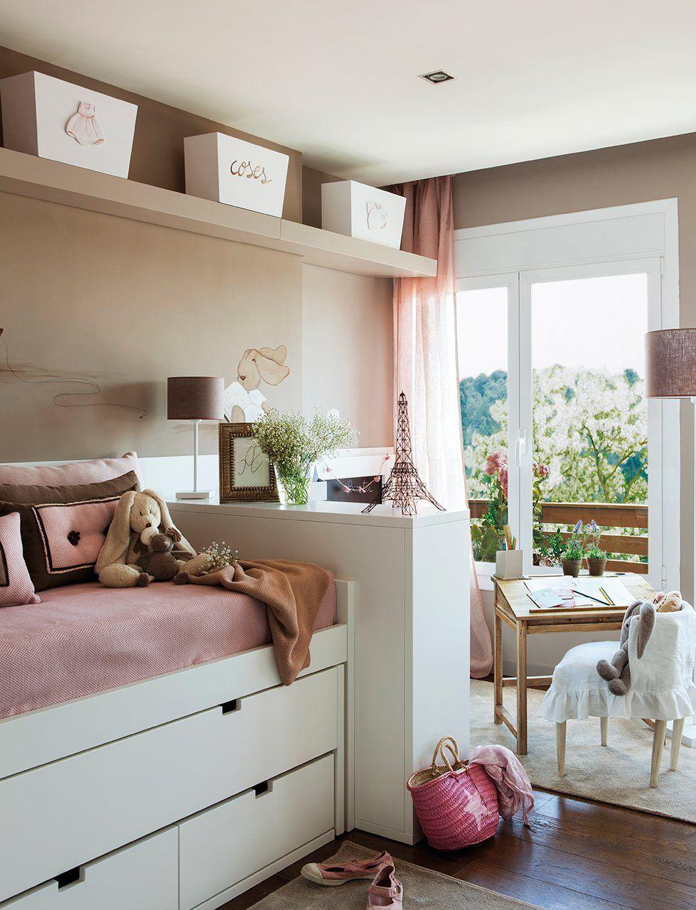 Tres ambientes en un dormitorio junto al ventanal y frente - Habitaciones ninos el mueble ...