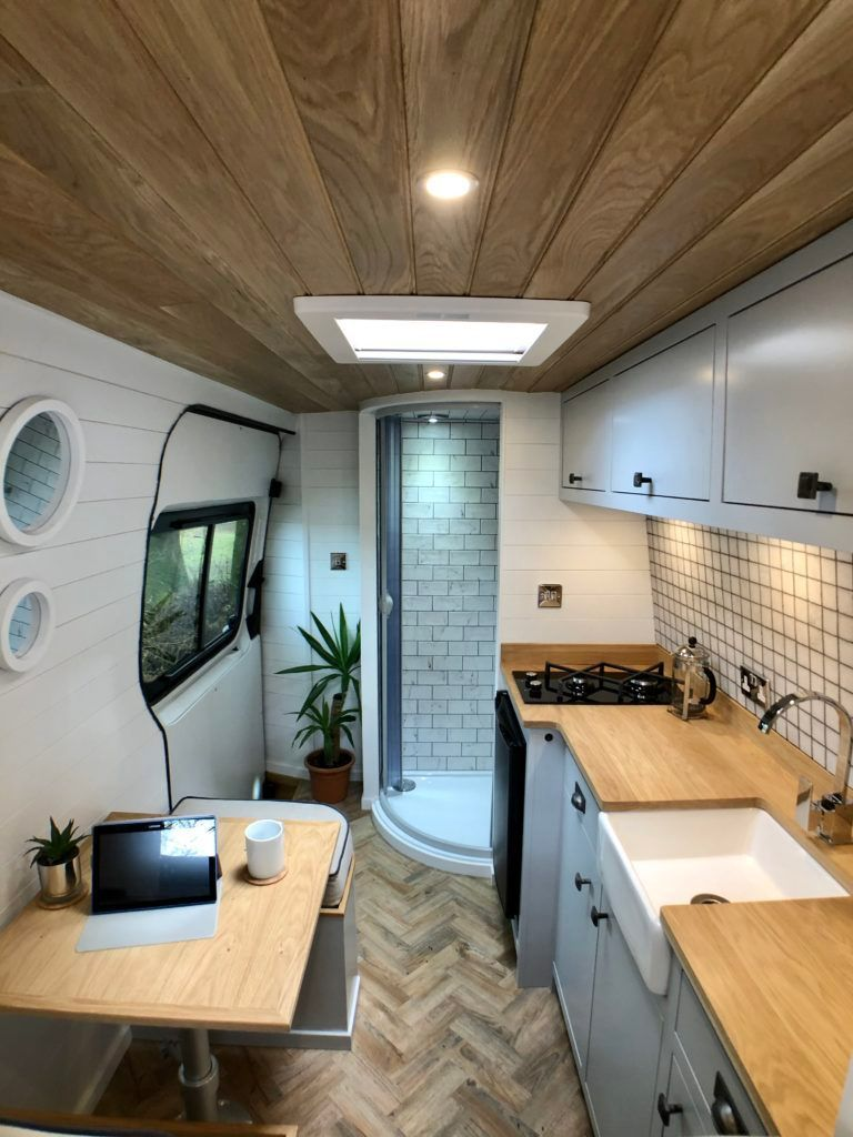 Photo of This custom-built campervan makes on-the-road living easy