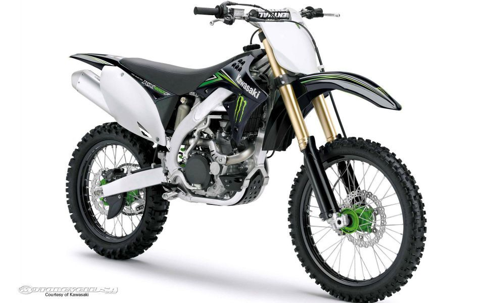 Kawasaki Kx450f Monster Energy Hd Wallpaper Wallpapers Dirt