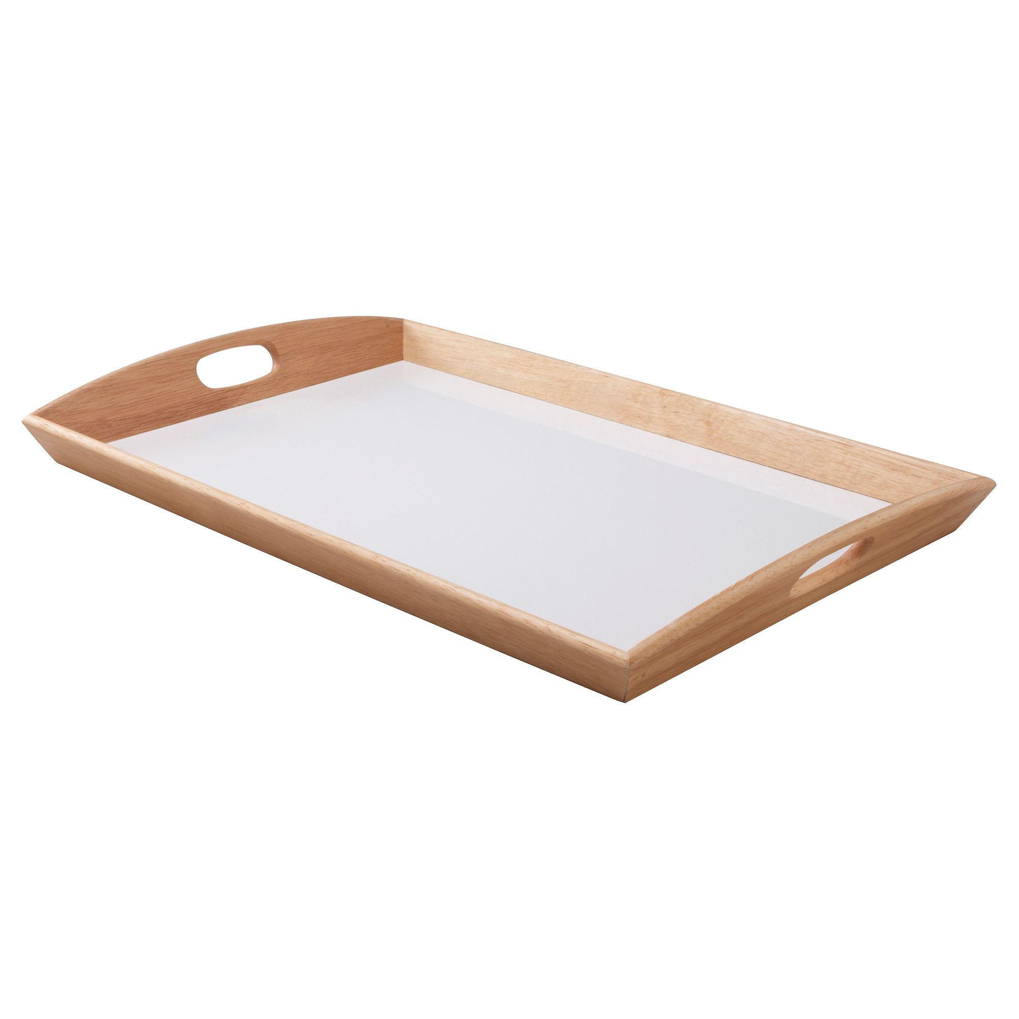 KLACK Tray, rubberwood | Trays, Living rooms and Ikea shopping