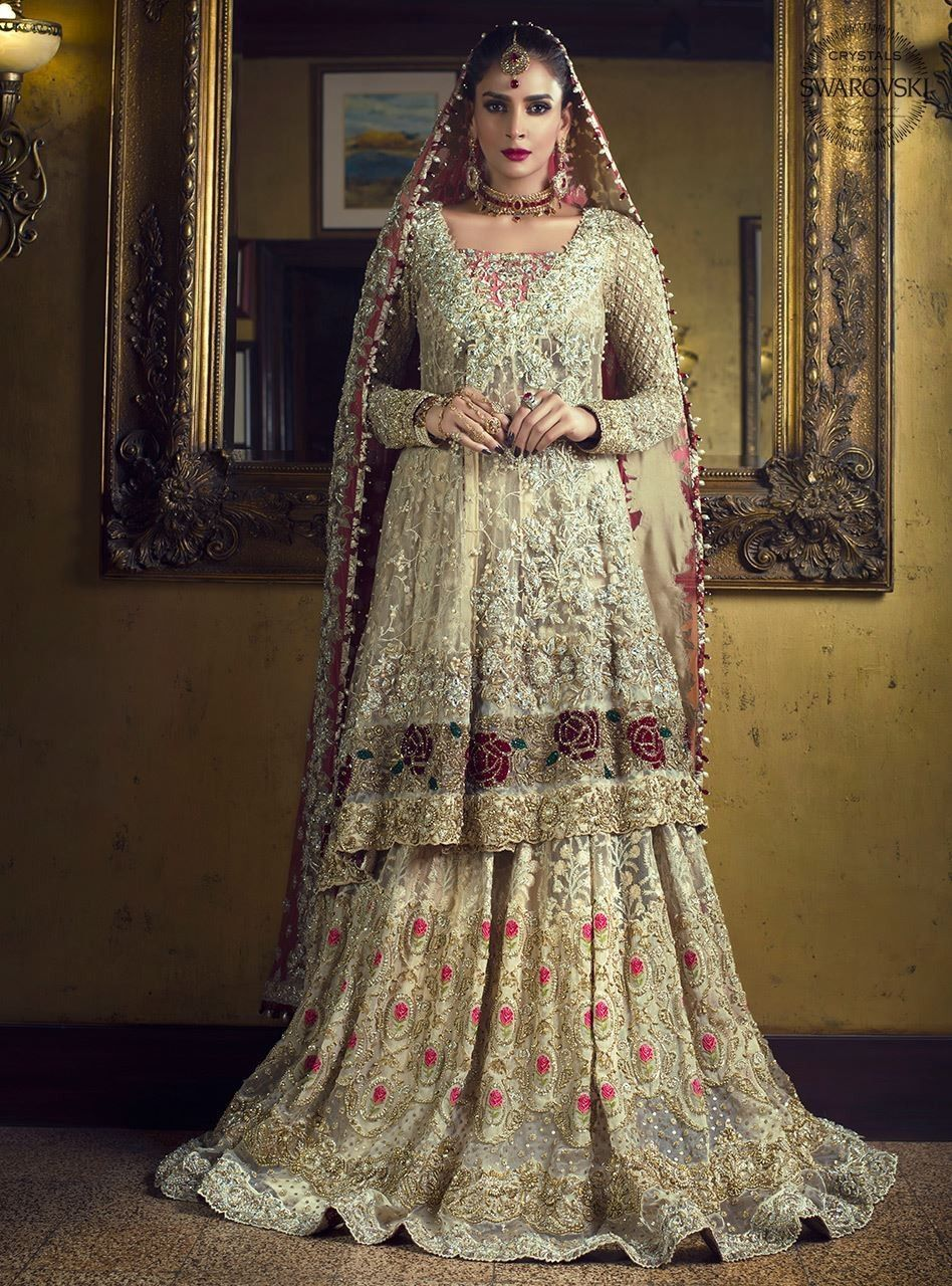 Gone style pakistani bridal dresses