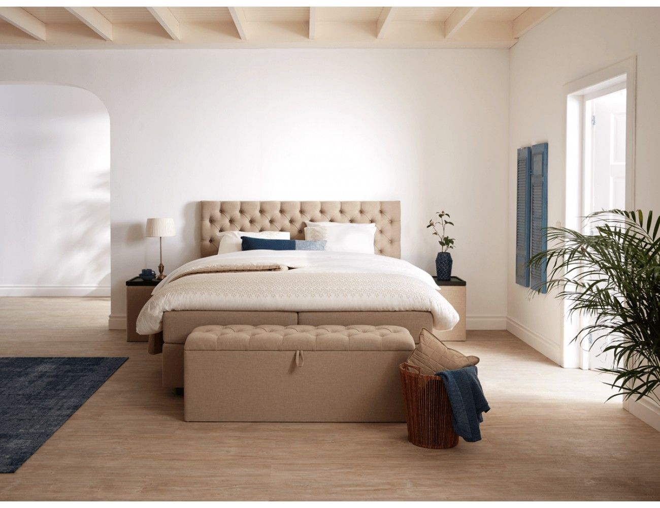 Luxor boxspring aanbieding persoons boxspring bed