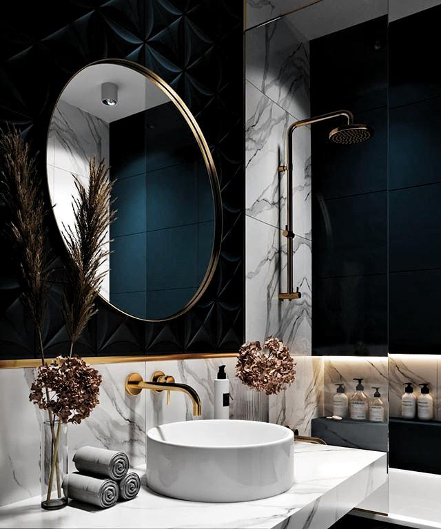 11 Der Besten Aufbewahrungsideen Fur Das Badezimmer Auf Pinterest Aufbewahrungsideen Badezimmer Besten Pin Chique Badkamers Badkamer Badkamer Inrichting