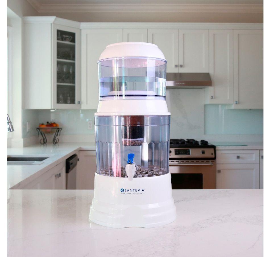 Santevia Alkaline Gravity System Countertop Model Alkaline Water
