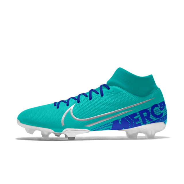 Nike Mercurial Superfly 7 Academy Fg Mg By You Custom Multi Ground Soccer Cleat Soccer Cleats Nike Soccer Boots Womens Soccer Cleats