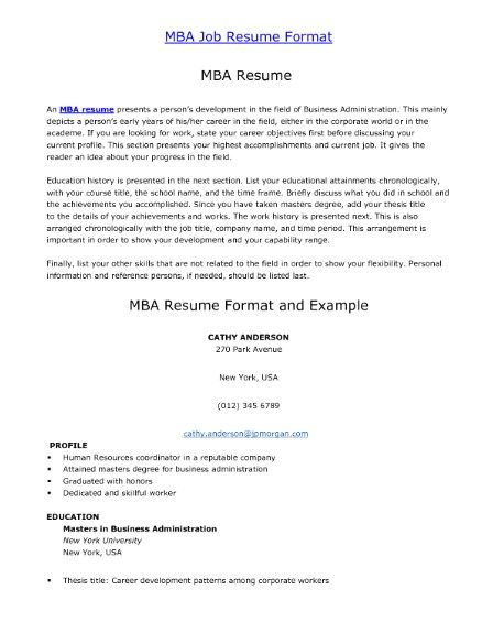 resume format for job httpgetresumetemplateinfo3555resume