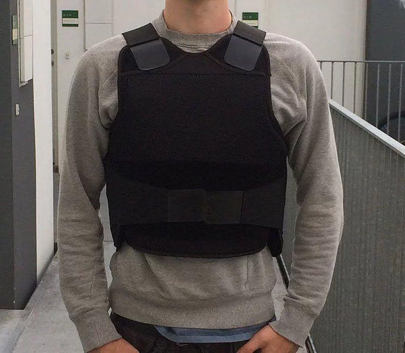 Angry Azian Kate Bulletproof vest