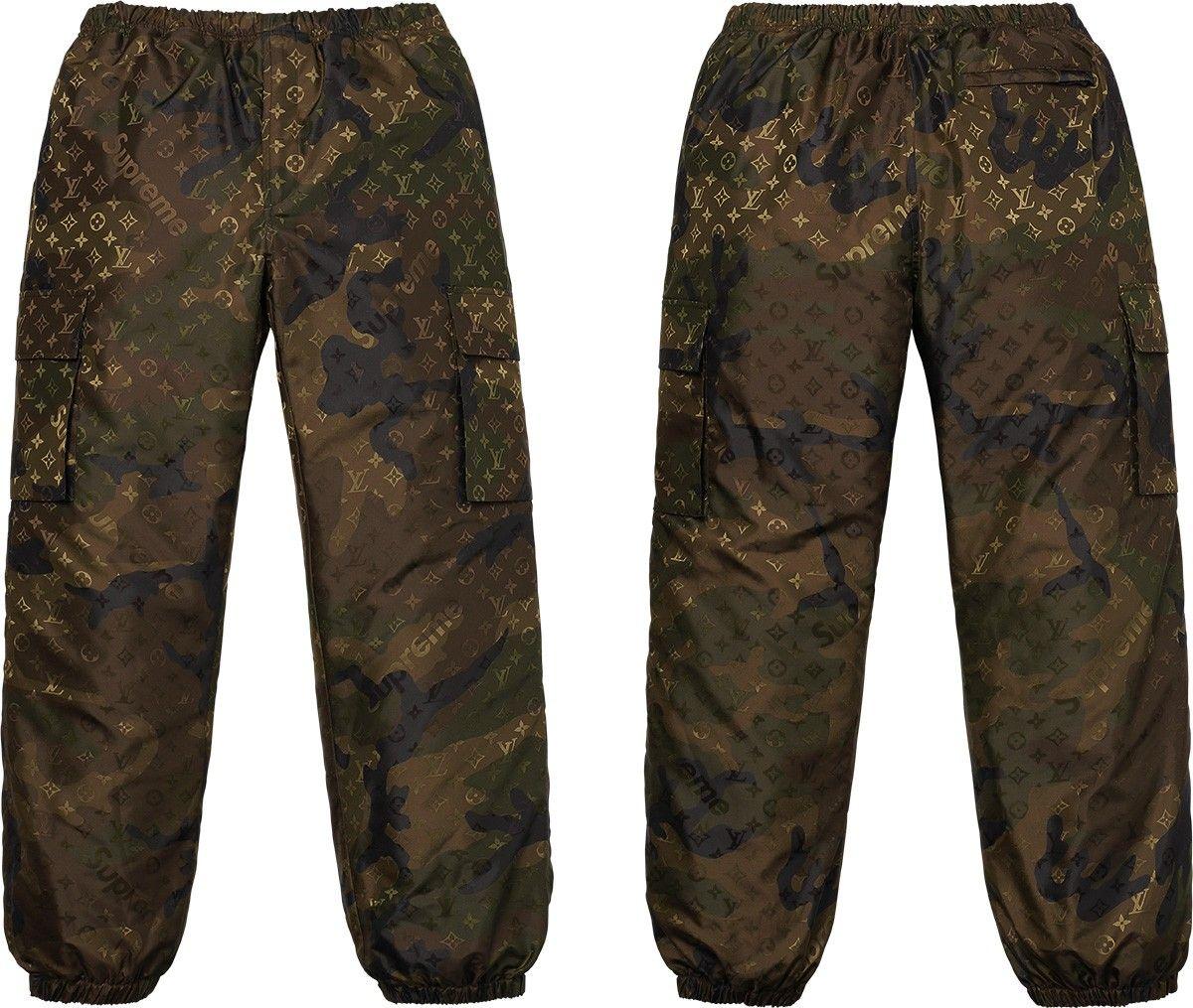 Lv X Supreme Track Pants Look In Loop Pinterest Louis Vuitton
