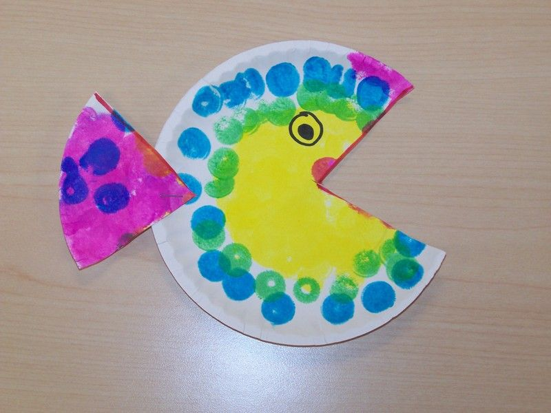 paper plate fish craft paper plate fish theme fish crafts 5108