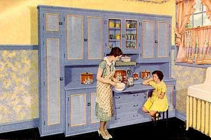 1930s kitchen maison ann es 30 40 pinterest ann es 30 annee et cuisiner. Black Bedroom Furniture Sets. Home Design Ideas