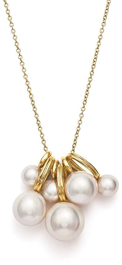 Ippolita 18k Gold Nova 5-Strand Collar Necklace w/ Pearls oN4WNBa8
