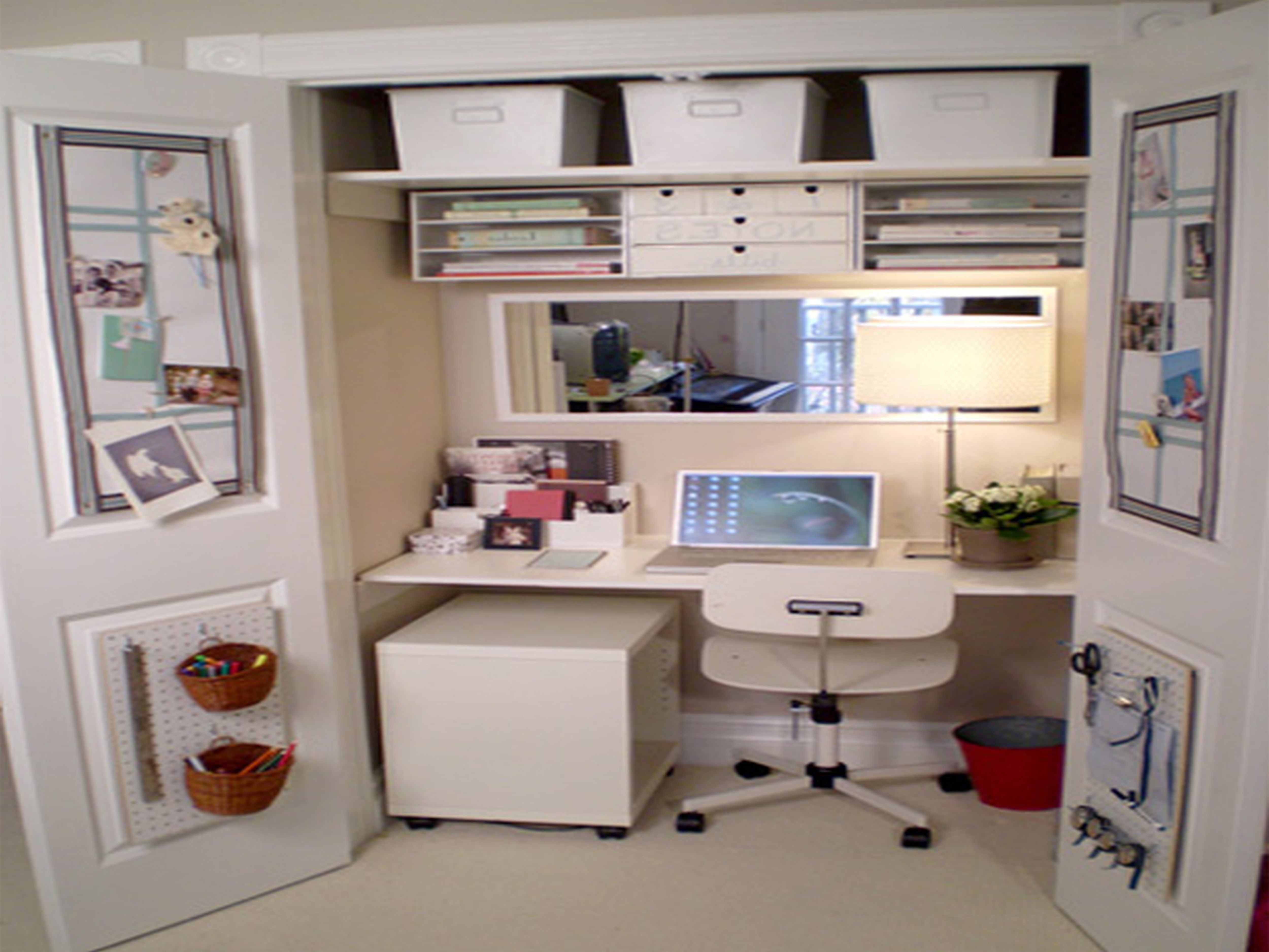 Convert A Closet To A Desk Makeup Space With Storage Teen Girl