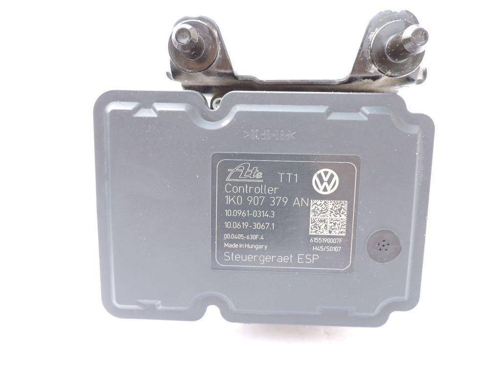 09 Volkswagen Golf GTI Jetta ABS Module 1K0 907 379 AN