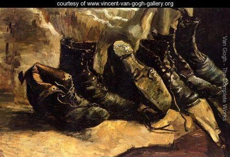 Woman Miners Carrying Coal 2 - Vincent Van Gogh - www.vincent-van-gogh-gallery.org