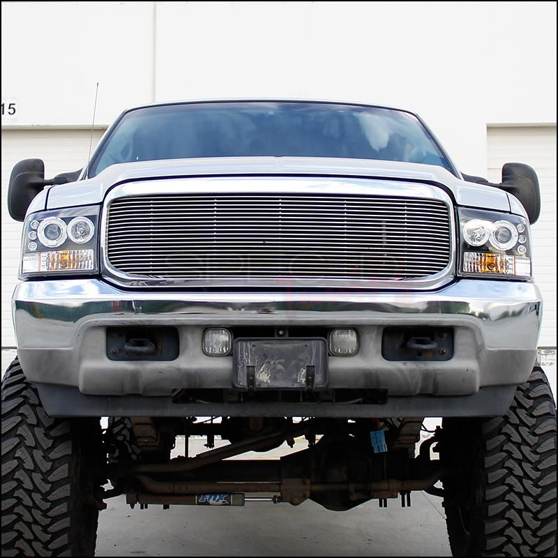 Spec D Projector Headlights Ford F250 F350 F450 Dual Halo Led 9 Redline360 Led Halos Projector Headlights Ford F250