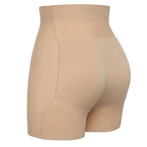 d75a9714c22 Joyshaper Padded Hip Enhancer Butt Lifter Panties for Women High Waisted  Tummy Control Knickers Thigh Slimmer Booty Shorts Seamless Underwear Briefs  ...