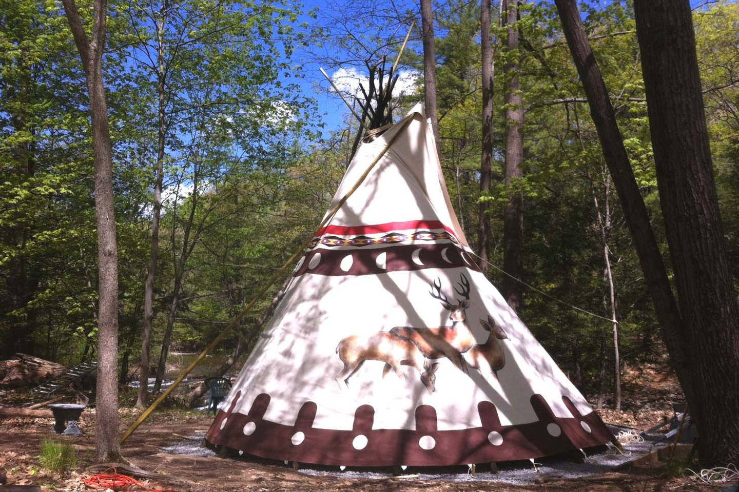 Pin by Gwen Swanson on : Best of Airbnb : | Tipi, Tent