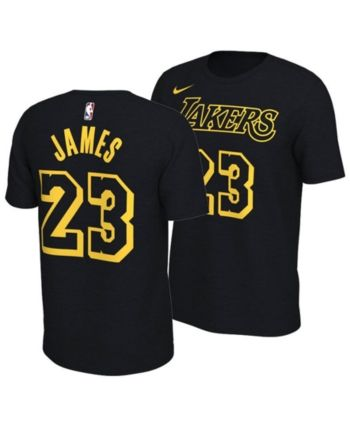 d1dcbd6b4 Nike LeBron James Los Angeles Lakers City Edition T-Shirt