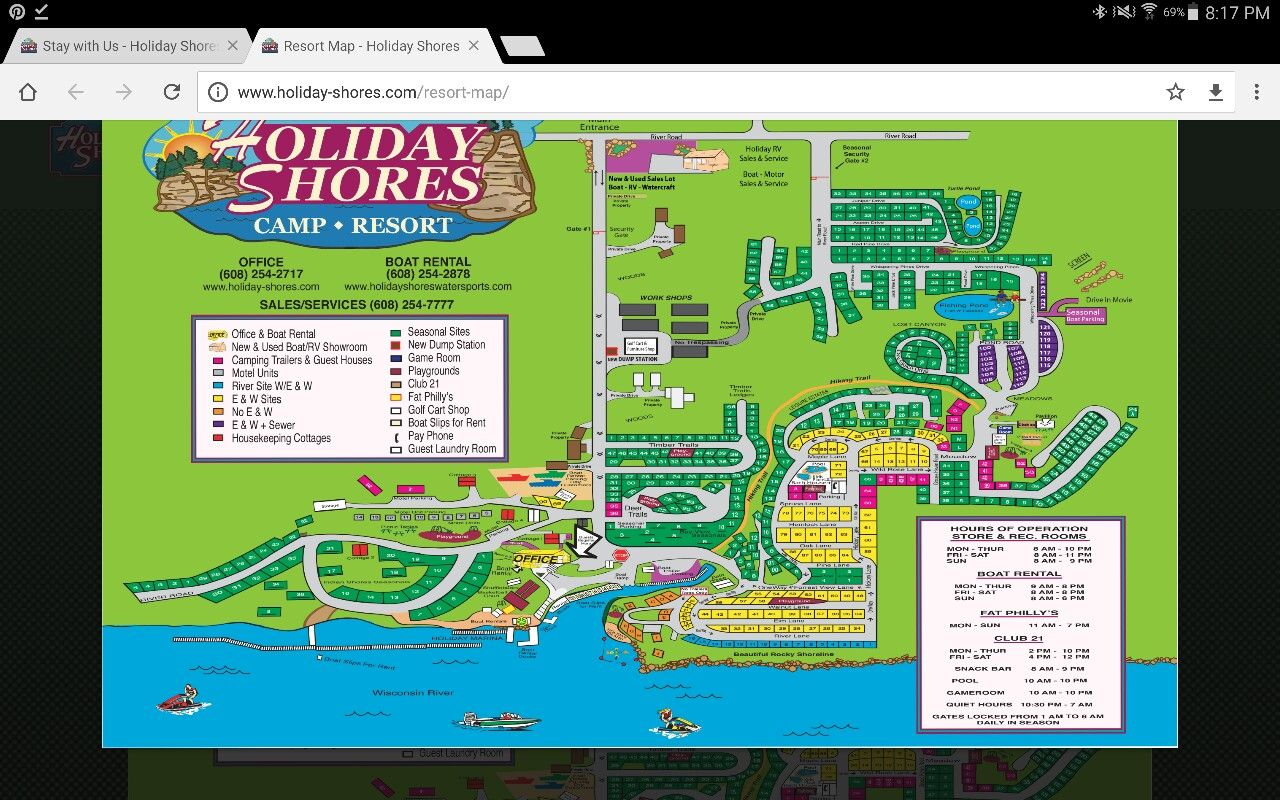 Holiday shores wisconsin dells with images wisconsin