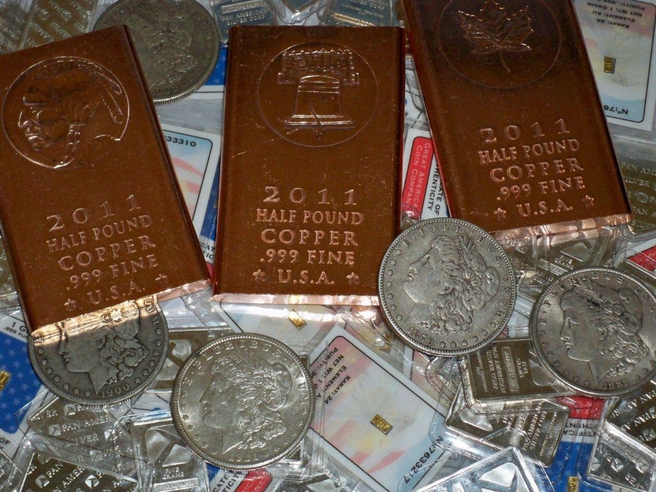 Authentic Gold Bar Silver Bar Copper Bar 100 Year Old Silver Dollar Lot Shopnetone Copper Bar Silver Bars Gold Bar
