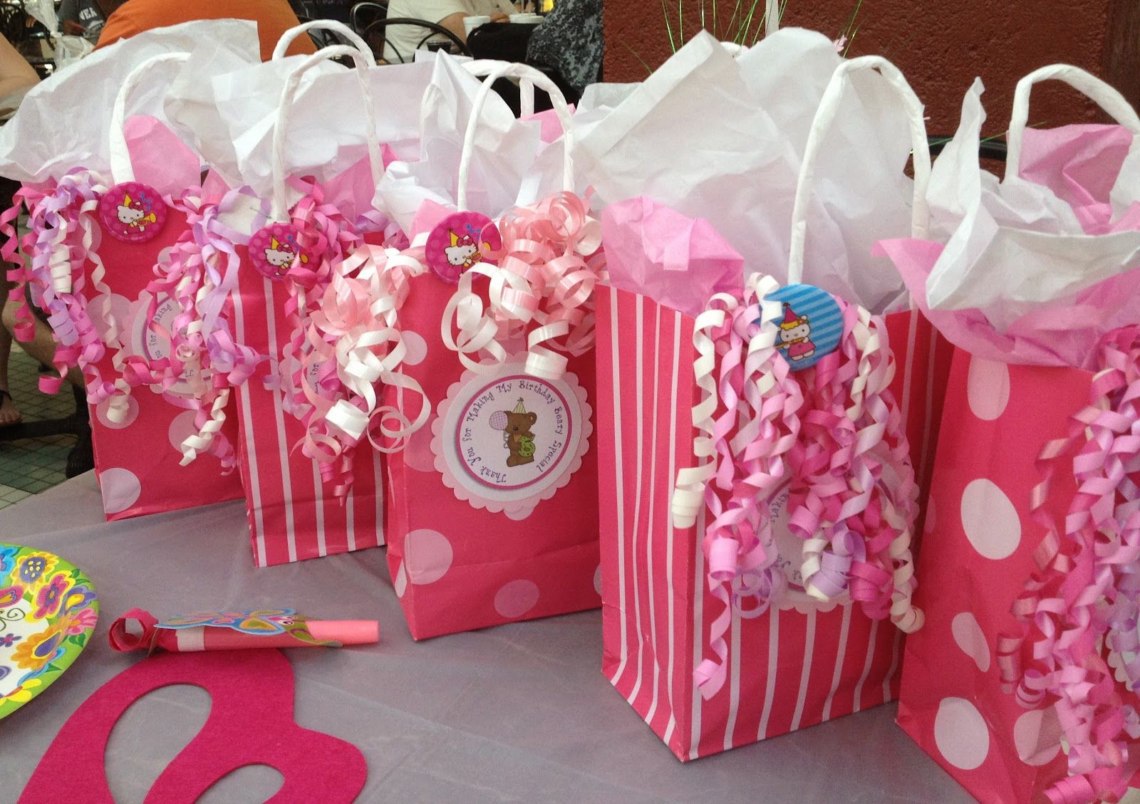 Image detail for -Goodie Bags with the Bear Theme.