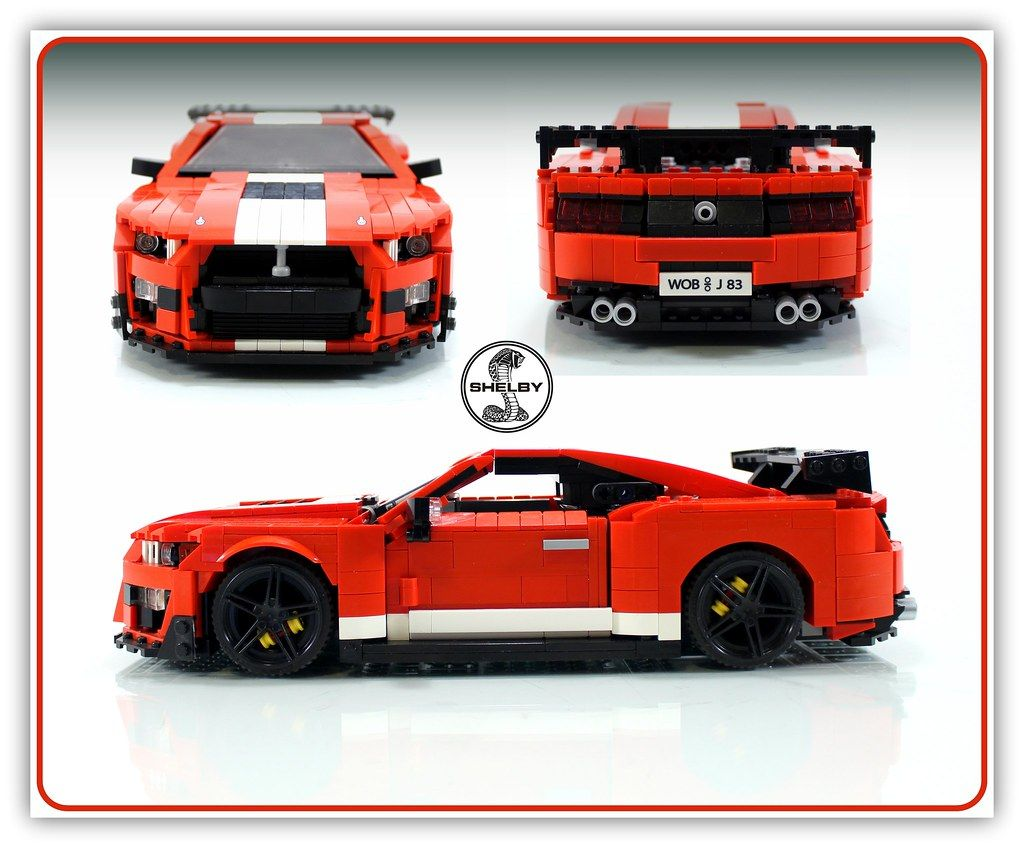 2020 Ford Mustang Shelby Gt500 Lego Cars Shelby Gt500 Ford