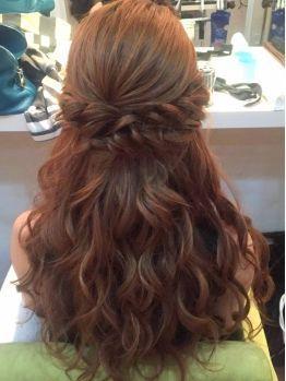 2017年最新版 結婚式お呼ばれヘアアレンジ 大人可愛い髪型特集 ハーフアップ アップヘアー 結婚式 ヘアスタイル お呼ばれ 卒業式 髪型 ロング 卒業式 髪型