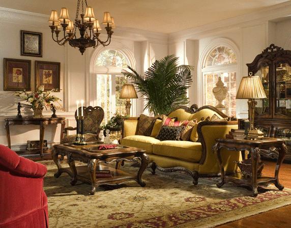 Great Rococo Interior Design | Rococo Style Living Room Unique Interior Decoration  Rococo Furnishing .