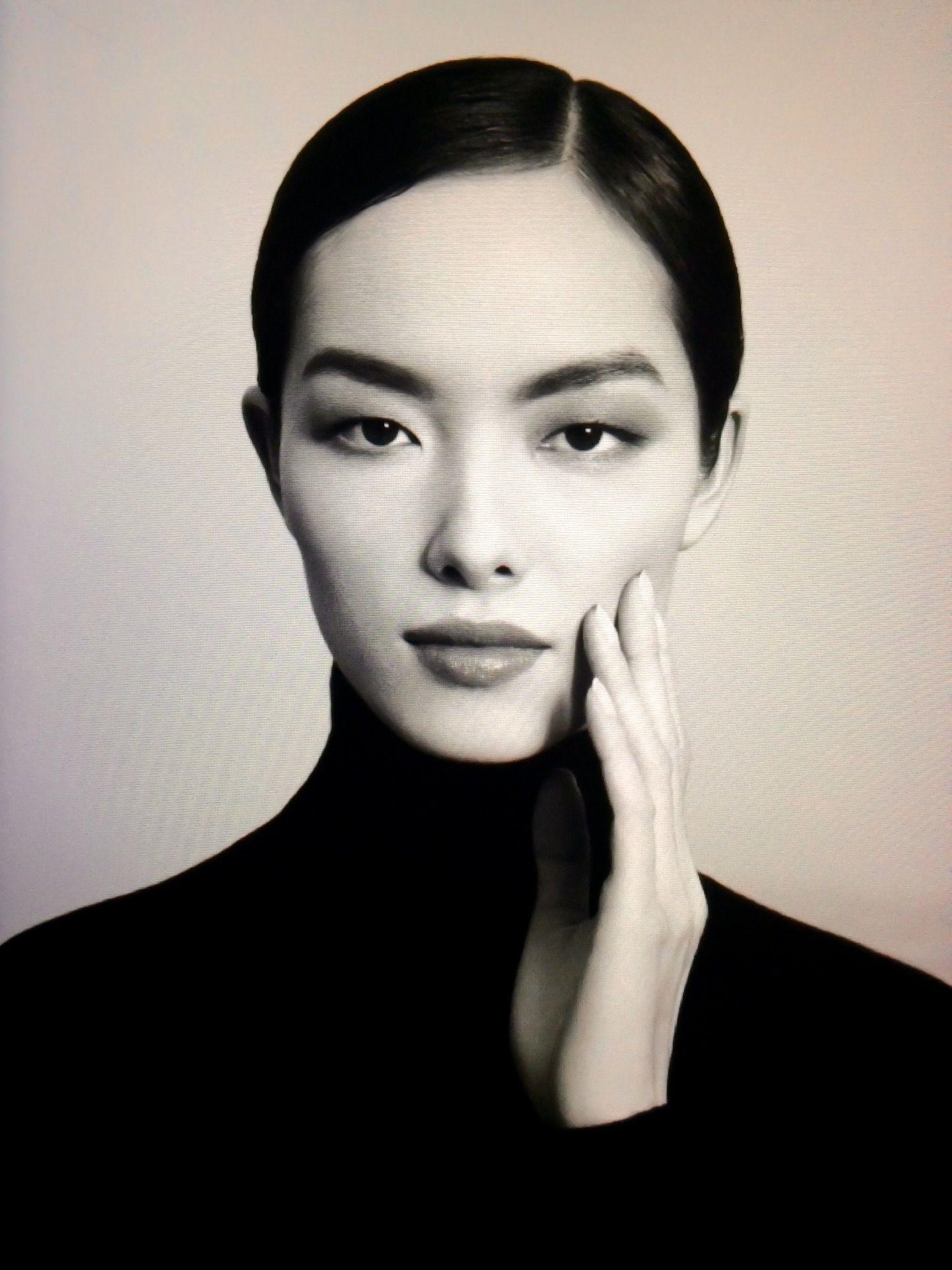Asian beauty  Black hair and pale face  Pinterest  Pale face