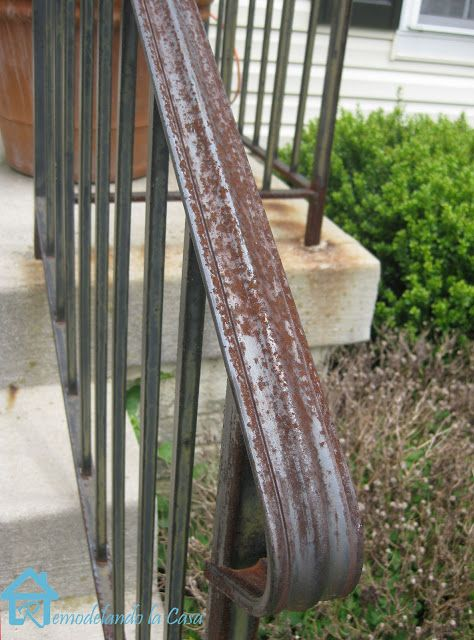 Front Yard Care And How To Remove Rust From Metal Your
