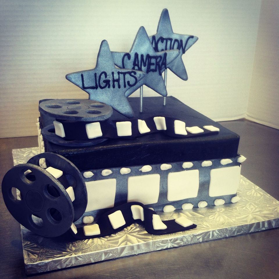 Lights Camera Action A Specialty Cake Designed For A