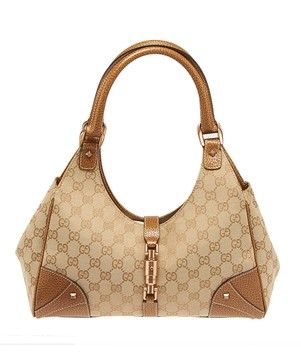 f203c85b67f4 Gucci Monogram Gg Canvas Jackie-o Handbag (23192) Beige Tote Bag. Get one  of the hottest styles of the season! The Gucci Monogram Gg Canvas Jackie-o  Handbag ...