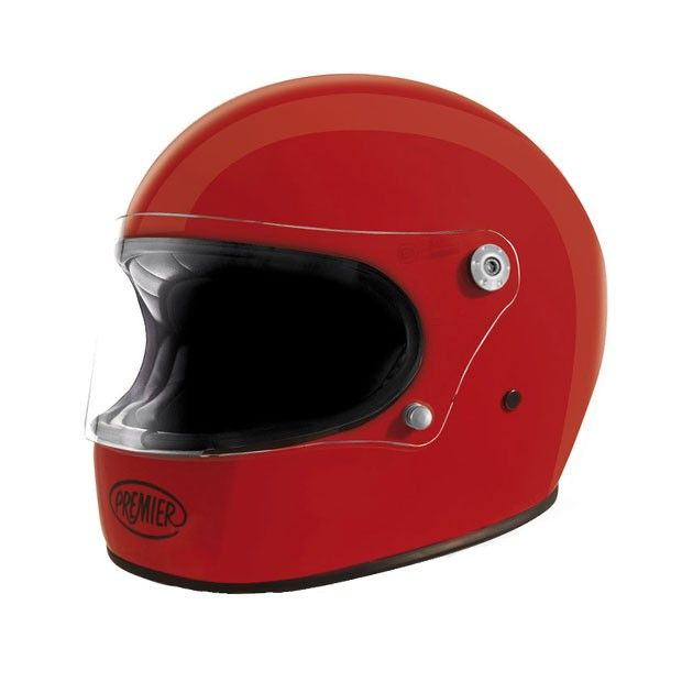 Premier Trophy Red Helmet Helmade Vintage Integral Helmet Buy Your Own On Https Www Helmade Com Red Helmet Helmet Motorbike Helmet