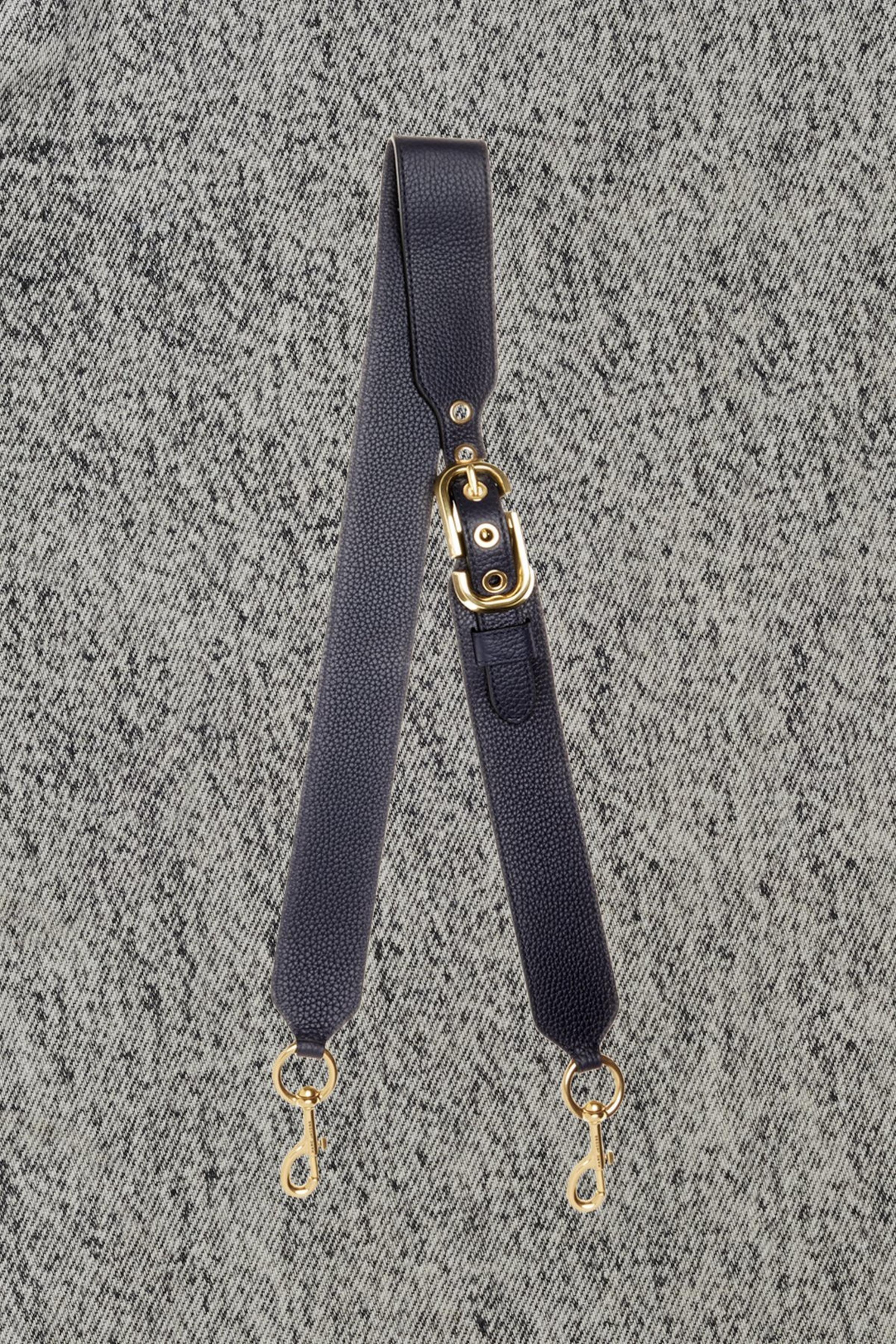 d7d3a886a945 Double J Pebble Leather Bag Strap